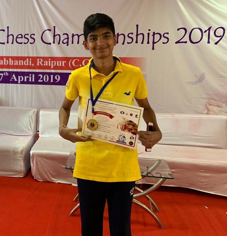 Hriday wins bronze at school national chess - Sports Lounge