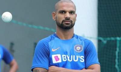 India opener Shikhar Dhawan
