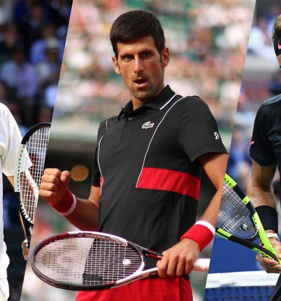 Nadal Federer Djokovic
