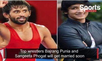 Bajrang Punia and Sangeeta Phogat