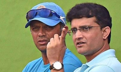 Dravid and Ganguly