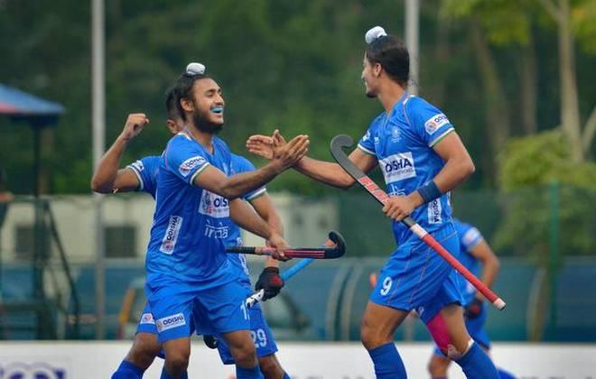 Indian jr hockey team