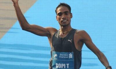 Marathoner Gopi