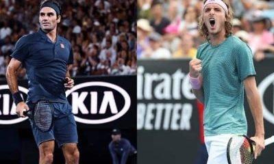 Tsitsipas to face Federer