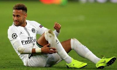 Neymar injured