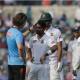 Injured Bangladesh player