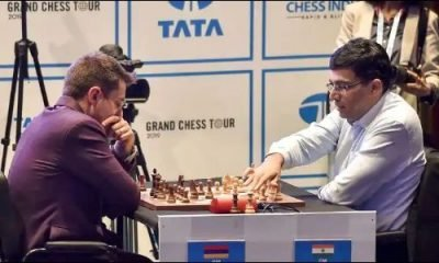 Carlsen extends lead, another mixed day for Anand at Tata Steel chess