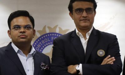 Jay Shah and Ganguly