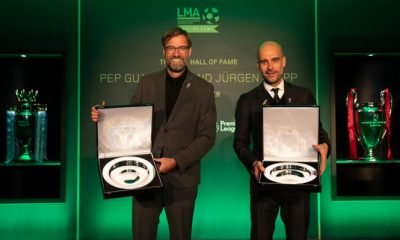 Great Rivals Pep Guardiola, Jurgen Klopp Inducted Into LMA Hall Of Fame