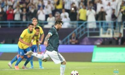 Lionel Messi Argentina vs Brazil