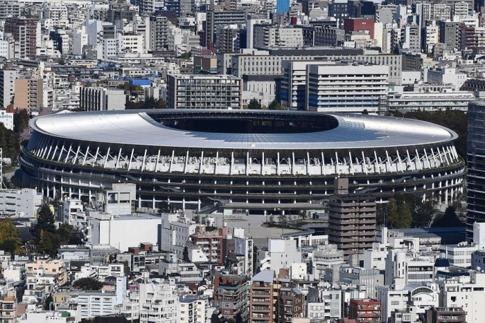 Main Olympic stadium for 2020 Tokyo Games ready to fight heat