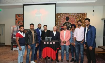 Indian athletes at the launch of nutrition brand of Musashi in India.