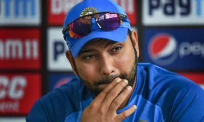 captain Rohit Sharma