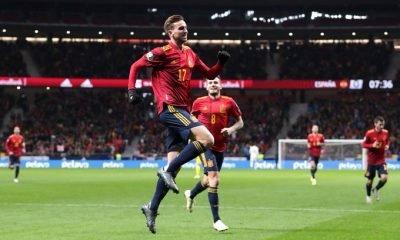 Spain thrashes Romania 5-0 in final Euro qualifier