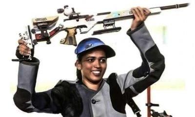 Tejaswini books India's 12th Olympic shooting quota