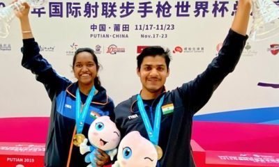 India cap off pistol/rifle World Cup Finals with President's Trophies