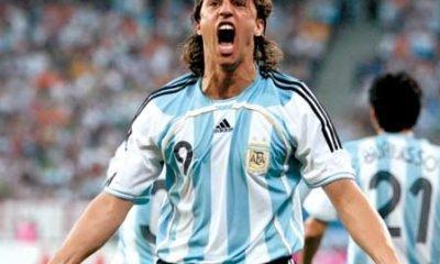Former Argentina footballer Hernan Crespo