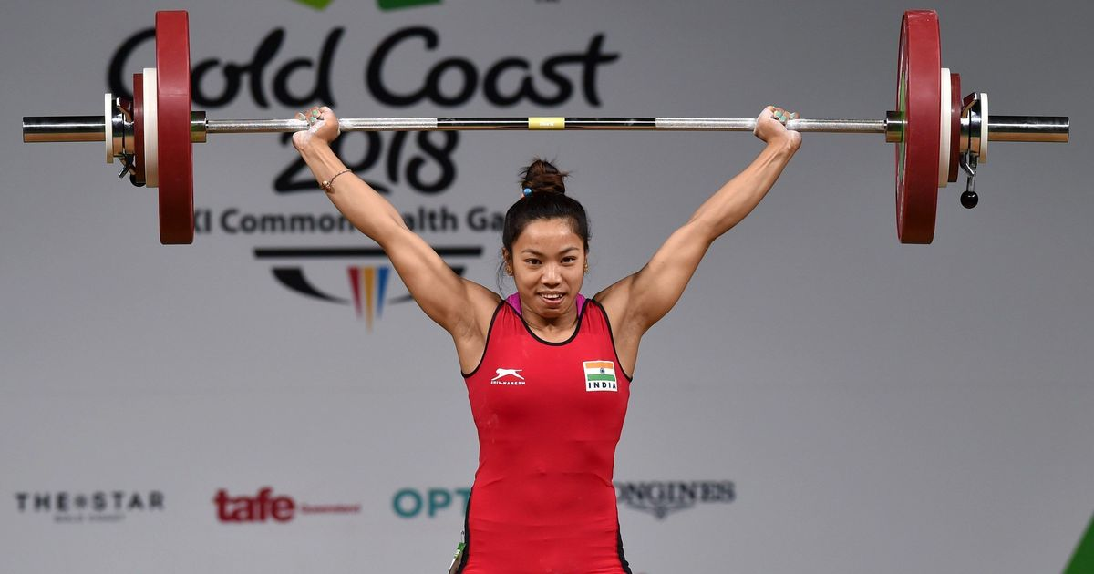 Weighlifter Mirabai Chanu wins gold at Qatar