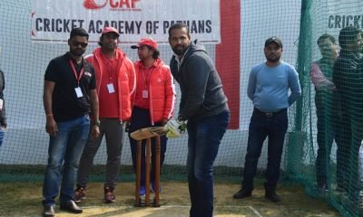 Yusuf Pathan inaugurates cricket academy in Lucknow