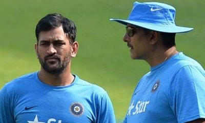 ms dhoni and shastri