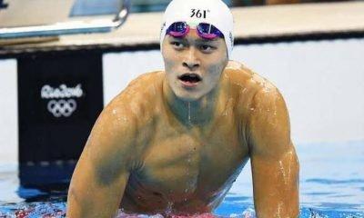 Chinese swimmer Sun Yang