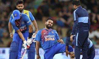 Rohit Sharma calf injury