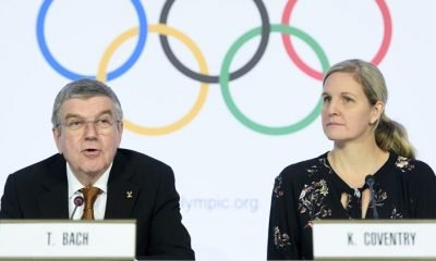 Thomas Bach, Kirsty Coventry