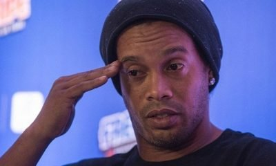 Brazilian football great Ronaldinho