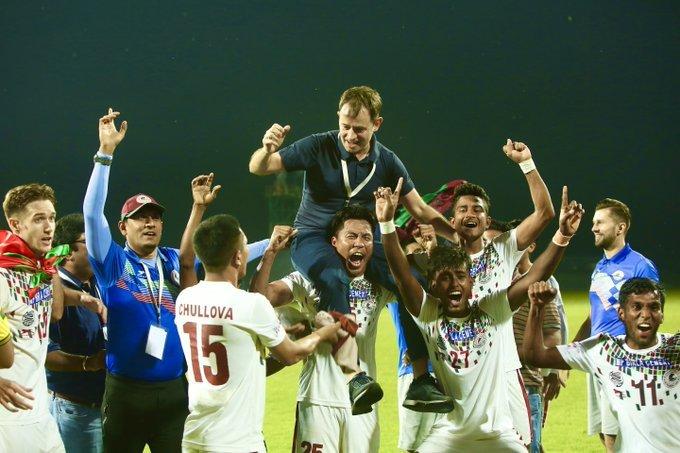 Mohun Bagan I-League win