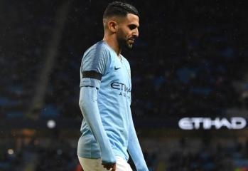 Manchester City winger Riyad Mahrez