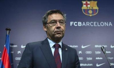 Barcelona president Bartomeu
