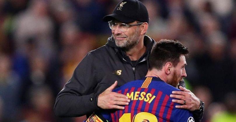 Lionel Messi, Jurgen Klopp