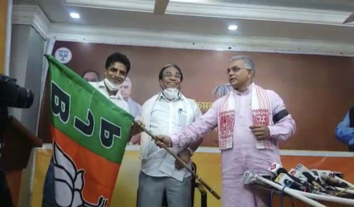 footballer Mehtab Hussain joins BJP