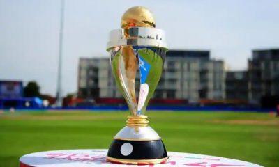 Women's Cricket World Cup Trophy.