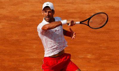 Noval Djokovic Italian Open