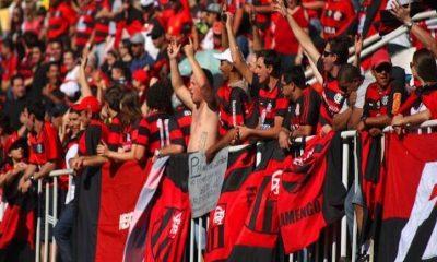 Flamengo football club fans