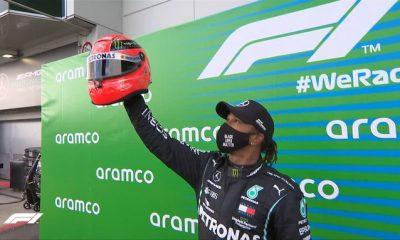 Lewis Hamilton Schumacher