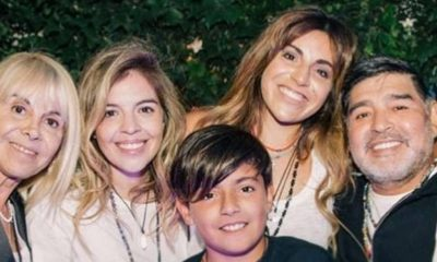 Diego Maradona family