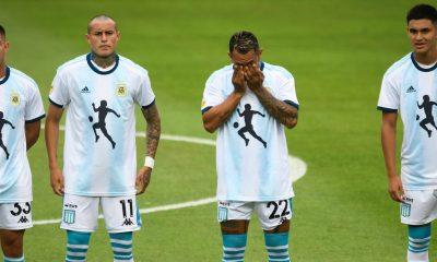 Maradona tribute