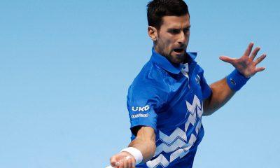 Movak Djokovic ATP Finals
