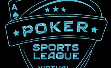 Poker Sports League Virtual Logo