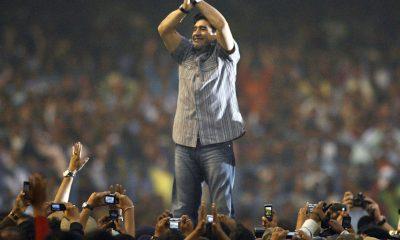 Diego maradona in kolkata