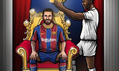 Pele Messi