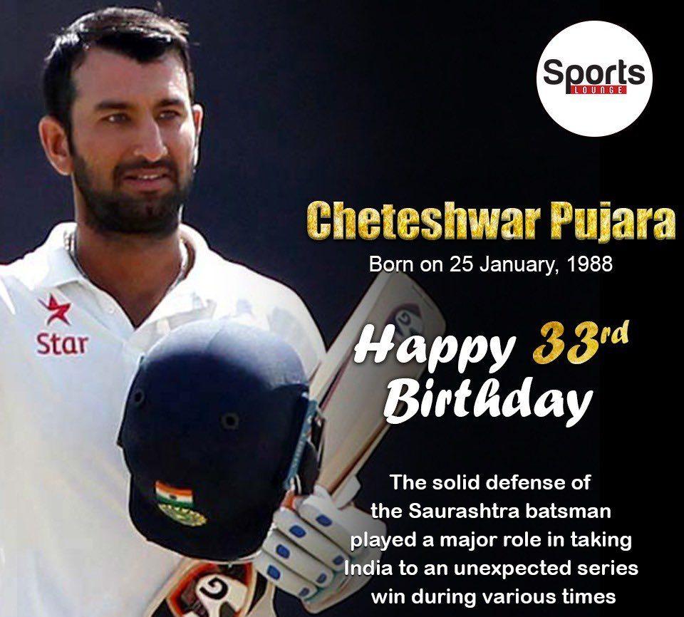 Cheteshwar Pujara bday