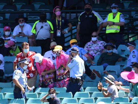 Racism Sydney Test