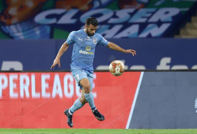Mumbai City FC's Hugo Boumous