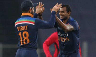 Natarajan 3rd ODI