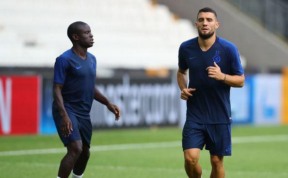 N'Golo Kante and Mateo Kovacic