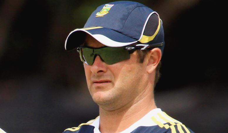 South Africa coach Mark Boucher