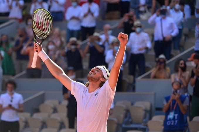 Tsitsipas French Open